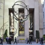 Атлас Статуя в Рокфеллер-центре