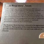 Регистрационная комната в музее иммиграции