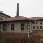Заброшенная больница на острове Эллис