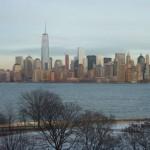 Вид на Манхэттен с острова Эллис