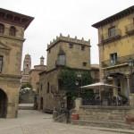 Архитектура зданий Испанской деревни, Барселона
