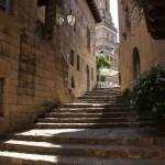 Проход между улицами по лестнице, БашняИспанская деревня, Барселона