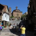 Туристы в Испанской деревне