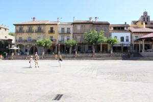 Площадь в Испанcкой деревне - Плаза Майор