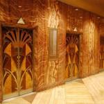 Лифты в здании Крайслер-Билдинг