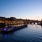 Вечерняя Сена, Париж, Франция