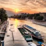 Пристань прогулочных катеров, Париж