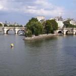 Новый мост на Сене, Франция