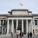 Фасад музея, Мадрид - Прадо