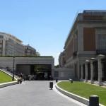 Вход в музей Прадо, Мадрид, Испания