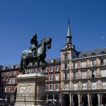 Памятник королю Испании Филиппу III