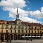 Здание на площади, Мадрид, Испания