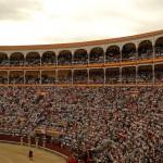 Заполненные трибуны Лас-Вентас, Мадрид