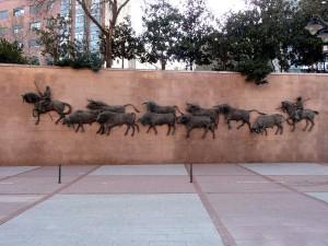 Архитектурный памятник перед Лас-Вентас, Мадрид