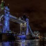 Ночной вид на Тауэрский мост, Лондон