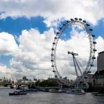 Лондонский глаз - колесо обозрения в Лондоне