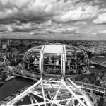 Вид с Лондонского глаза