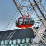 Капсула лондонского колеса обозрения