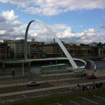 Мост тысячелетия в Гейтсхеде