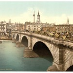 Изображение старого Лондонского моста