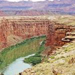 Река Колорадо в Мраморном Каньоне