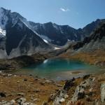 Горное озеро Алтая