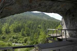 Вид из Денисовой пещеры