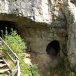 Вход в Денисову пещеру