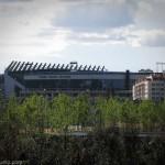 Вид на домашний стадион Атлетико