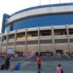 Висенте Кальдерон стадион (Атлетико) и окрестности