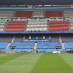Внутри стадиона Висенте Кальдерон, Мадрид