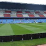 Футбольное поле Атлетико Мадрид