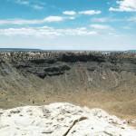 Вид на Аризонский кратер