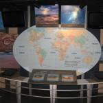 Внутри музея кратера Бэрринджера