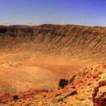 Марсианские пейзажи кратера Бэрринджера