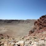 Поход на дне метеоритного кратера в Аризоне