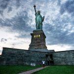 """Вид на Статую Свободы, """"Остров Свободы"""", Нью-Йорк"""