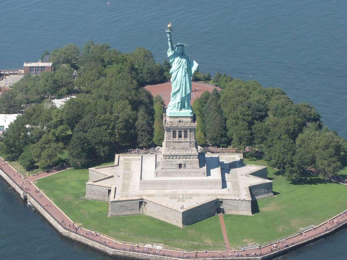 Остров Либерти, Нью-Йорк, США