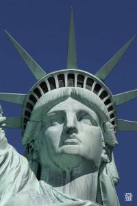 Корона Статуи Свободы из 7 зубцов, Нью-Йорк