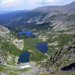 Каракольские озера: Первое, Второе и Третье