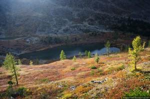 Второе Каракольское озеро, Горный Алтай