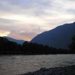 Закат на Чулышмане