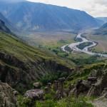 Каменные грибы в Чулышманской долине