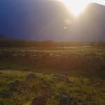 Закат в долине Чулышман