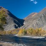 Река Чулышман в Алтае
