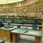 Читальный зал библиотеки Британского музея