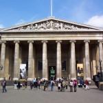 Главный вход в Британский музей