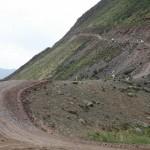 Крутой участок перевала Кату-Ярык