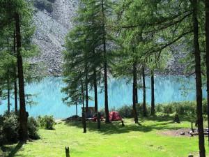 База на Шавлинском озере