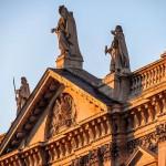 Скульптуры на крыше собора Святого Павла